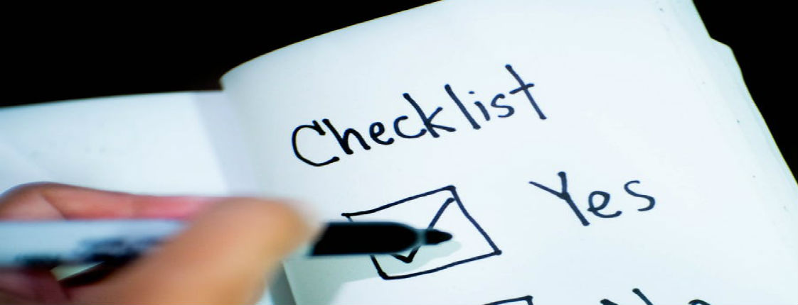 checklist 5 requirements for financial forecasting
