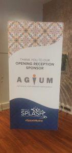 Agium EPM is Opening Reception Sponsor at Splash Madrid 2019